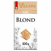 Villars tablette blond pur 100g