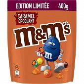 M&m's caramel croquant 400g