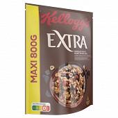 Kellogg's extra pépites morceaux chocolat noir et noisettes grillées 800g