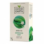 Good earth thé vert menthe marocaine x15s-27g