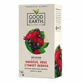 Good earth botanical tea hibiscus rose et fruits rouges 15s 42g