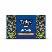 Tetley thé english breakfast x50 100g