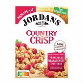 Jordans country crisp framboise jordans 500g