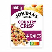 Jordans Country crisp 3 baies 550g