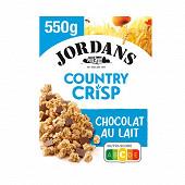 Jordans country crisp chocolat au lait 550g