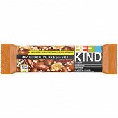 Be-kind barre noix de pécan glacées au sirop d'érable&sel de mer 40g