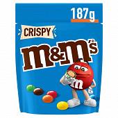 M&M's Crispy bonbon chocolat 187g