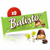 Balisto barre chocolat raisin noisette x9 166,5g