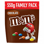 M&M's bonbons chocolat au lait 550g