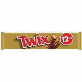 Twix barre chocolat biscuit caramel 12x2 600g