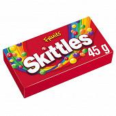 Skittles bonbons goût fruits - 45g