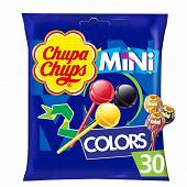 Chupa Chups 30 mini sucettes colors 180g