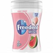 Freedent mega chewing-gum sans sucres fruits x45 - 103g