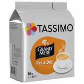 Tassimo grand mère petit déjeuner x16 133g