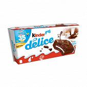 Kinder délice cacao anniversaire 35 ans t10 390g