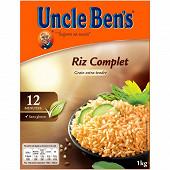 Uncle Ben's riz vrac complet 12min 1kg
