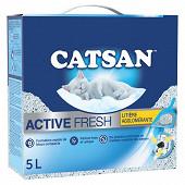 Catsan litière active fresh pour chat 5l