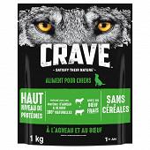 Crave croquettes à l'agneau & au boeuf pour chien 1kg