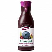 Innocent jus de myrtille pomme cassis cranberry 900ml