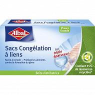 Albal sacs congélation lien gm - 6l x15