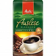 Melitta Auslese Klassich café moulu classique 500g