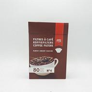ITS bv filtre à café blanc n°4 x80