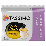 Tassimo L'or petit dejeuner classic x24 199g