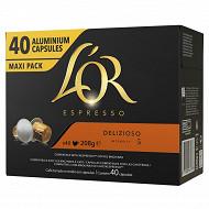 L'or espresso delizioso x40 208g