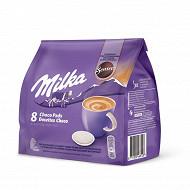 Milka chocolat en dosettes X8 - 112 GR