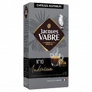 Jacques vabre capsule type nespresso n°8 indonesie x10 52g