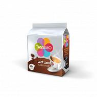Tassimo cafe dosette long classique x16 107g