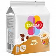 Tassimo café au lait café en dosettes x16 - 184g