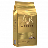L'or absolu café en grains 1000g