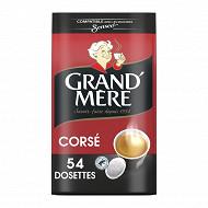 Grand mere cafe dosettes corse x54 356g