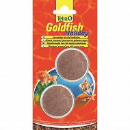 Tétra glodfish holiday bloc de 14 jours 2 x 12 g