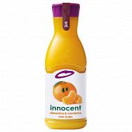 Innocent jus de mandarine et clémentine 900ml