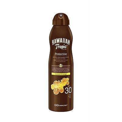 Hawaiian Tropic Hawaiian Tropic brume huile solaire SPF 30 180ml