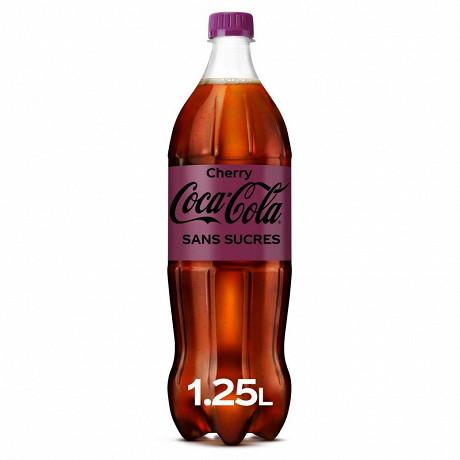Coca-Cola zéro cherry pet 1.25l