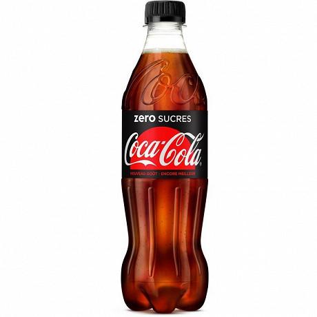 Coca-Cola zéro pet 50cl