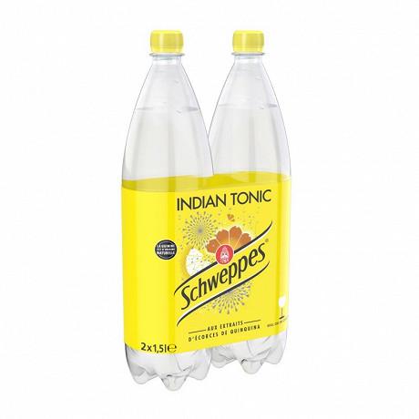 Schweppes indian tonic pet 2x1.5l