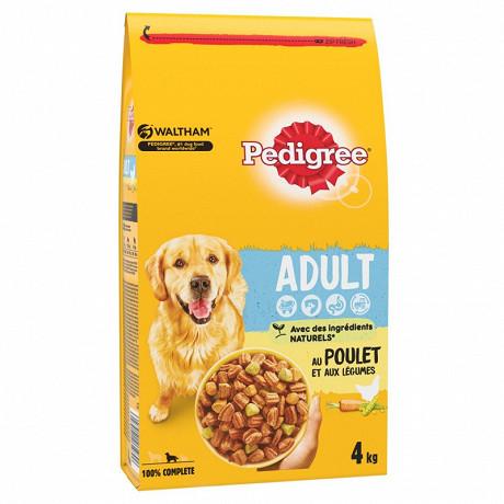 Pedigree croquettes pour chien adulte à la volaille sac 4kg