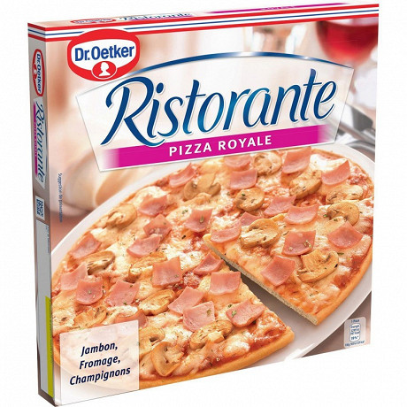 Dr Oetker pizza ristorante royale jambon, fromage champignons 350g