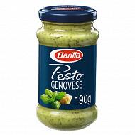 Barilla sauce pesto alla genovese basilic frais 190g