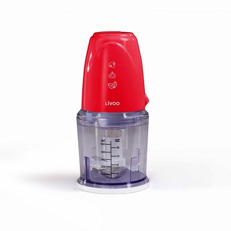 Livoo hachoir électrique multifonction rouge DOP207R