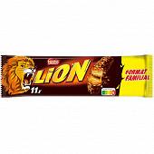 Lion barres chocolatées format familial 11x42g