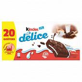 Kinder delice cacao pack 20 pièces 780g