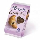 Bauli croissant coeur de cacao X6 300g