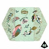 Lipton thé coffret noël bio x48s 69g