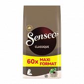 Senseo café dosettes classique x60 416g