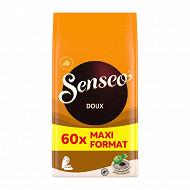 Senseo café dosettes doux 60P 416g